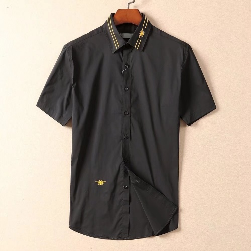 Christian Dior Shirts Short Sleeved For Men #869179