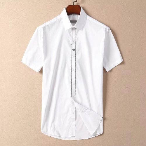 Christian Dior Shirts Short Sleeved For Men #869183