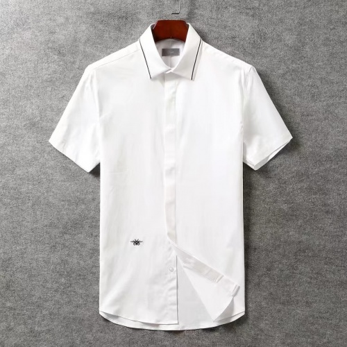 Christian Dior Shirts Short Sleeved For Men #869186