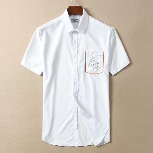 Hermes Shirts Short Sleeved For Men #869188