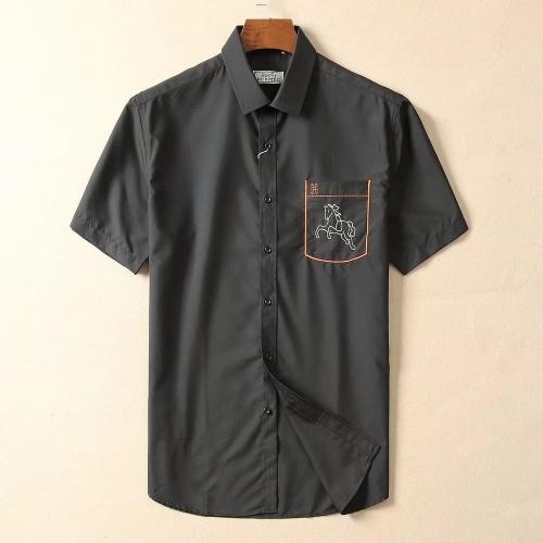 Hermes Shirts Short Sleeved For Men #869189