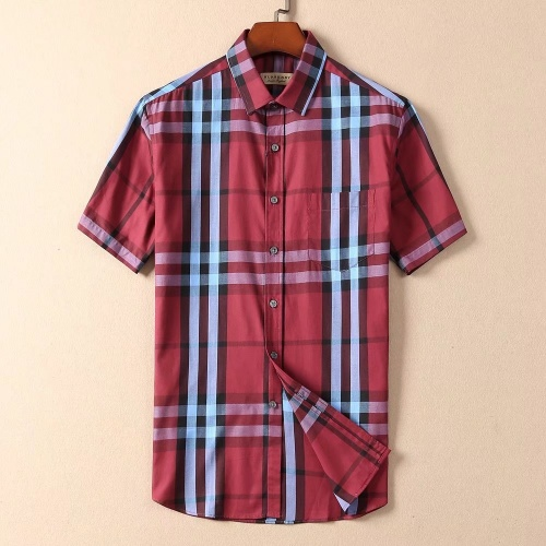 Burberry Shirts Short Sleeved For Men #869243