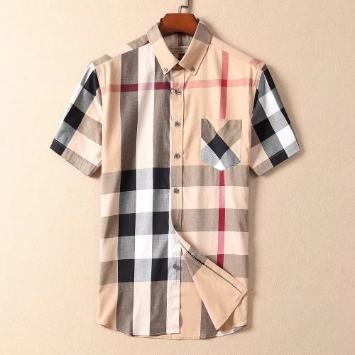 Burberry Shirts Short Sleeved For Men #869244