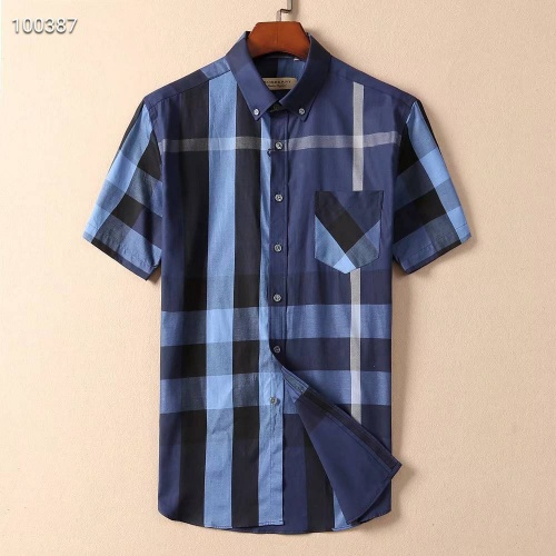 Burberry Shirts Short Sleeved For Men #869246