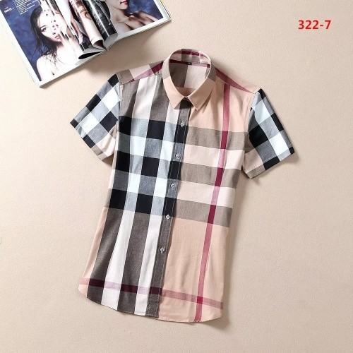 Burberry Shirts Short Sleeved For Women #869266