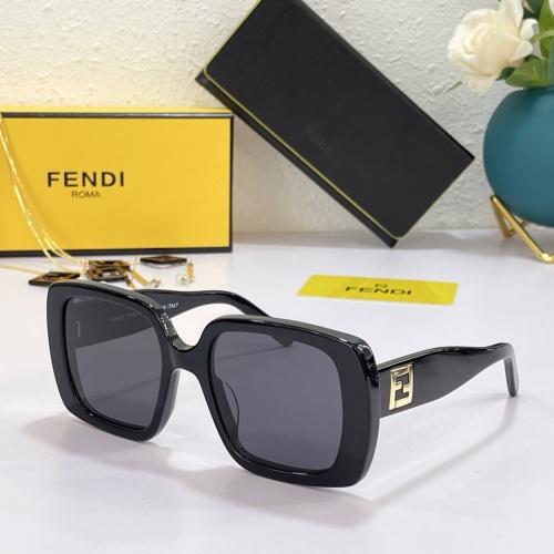Fendi AAA Quality Sunglasses #869335