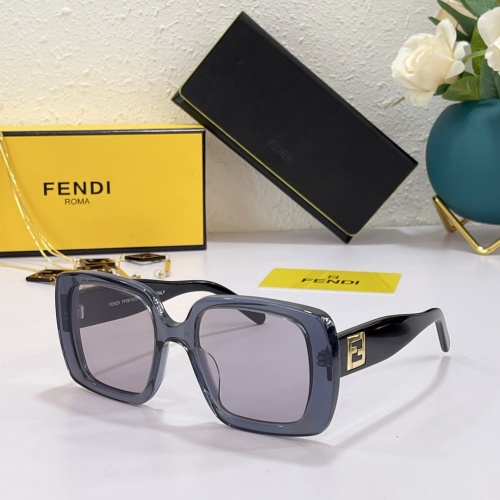Fendi AAA Quality Sunglasses #869336