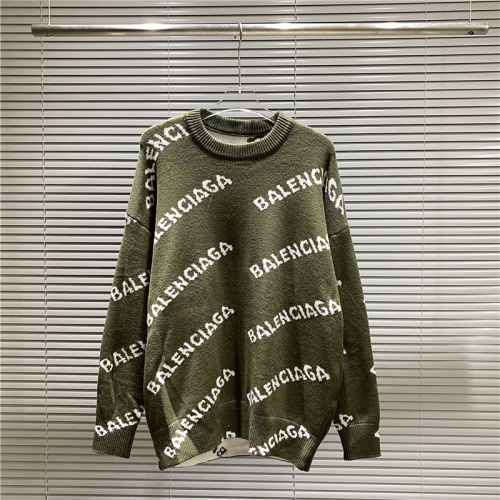 Balenciaga Sweaters Long Sleeved For Men #869353