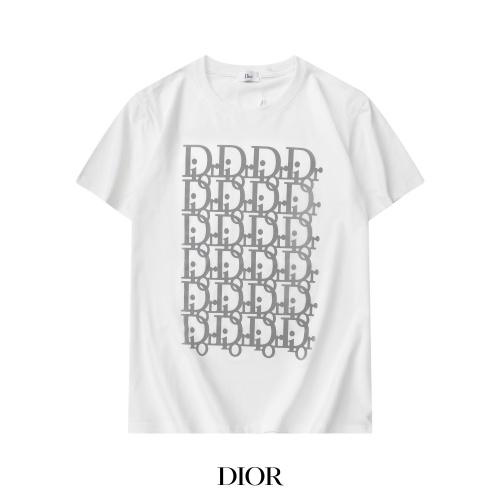 Christian Dior T-Shirts Short Sleeved For Men #869388