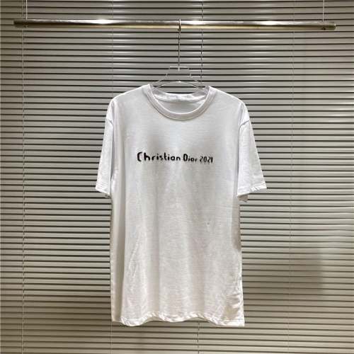Christian Dior T-Shirts Short Sleeved For Men #869399