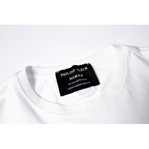 Replica Philipp Plein PP T-Shirts Short Sleeved For Men #869480 $29.00 USD for Wholesale