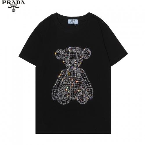 Prada T-Shirts Short Sleeved For Men #869484