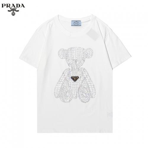 Prada T-Shirts Short Sleeved For Men #869485