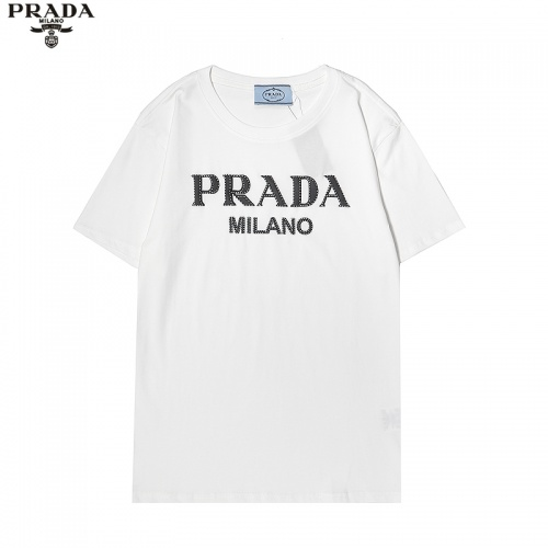 Prada T-Shirts Short Sleeved For Men #869487