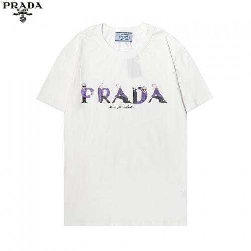 Prada T-Shirts Short Sleeved For Men #869491