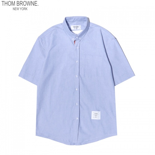 Thom Browne TB Shirts Short Sleeved For Men #869520