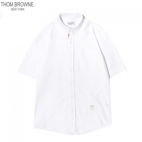 Thom Browne TB Shirts Short Sleeved For Men #869521