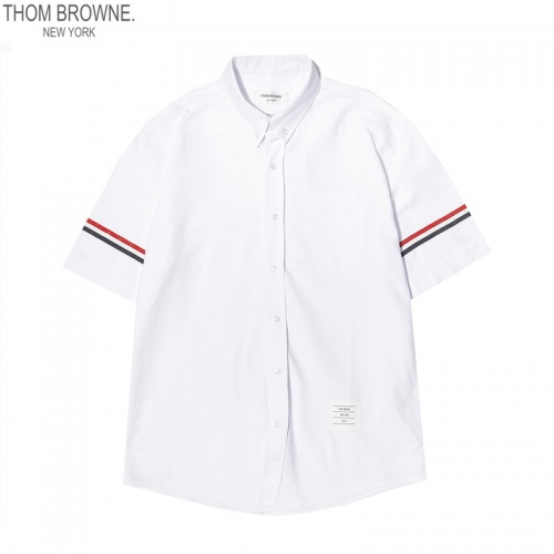 Thom Browne TB Shirts Short Sleeved For Men #869523