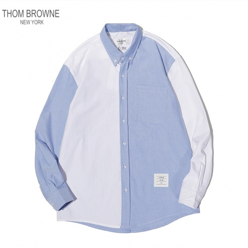 Thom Browne TB Shirts Long Sleeved For Men #869524