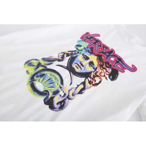 Replica Versace T-Shirts Short Sleeved For Men #869525 $27.00 USD for Wholesale