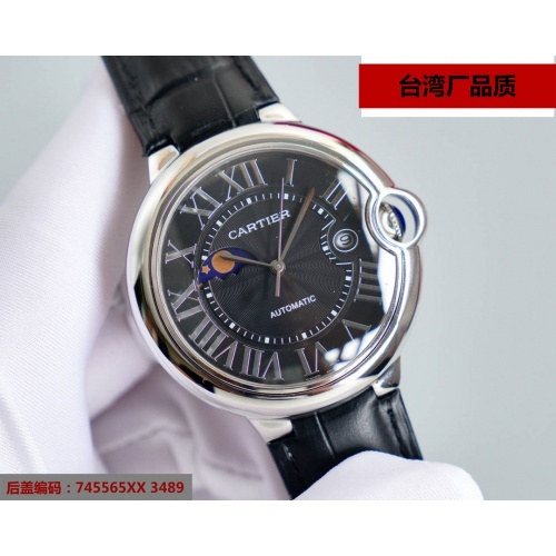 Cartier AAA Quality Watches For Men #869529 $202.00 USD, Wholesale Replica Cartier AAA Quality Watches