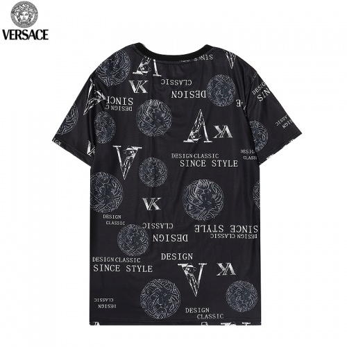 Replica Versace T-Shirts Short Sleeved For Men #869535 $27.00 USD for Wholesale