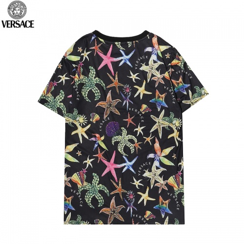 Replica Versace T-Shirts Short Sleeved For Men #869537 $27.00 USD for Wholesale
