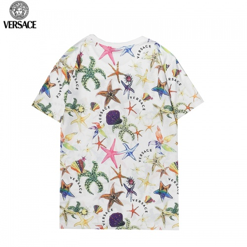 Replica Versace T-Shirts Short Sleeved For Men #869538 $27.00 USD for Wholesale