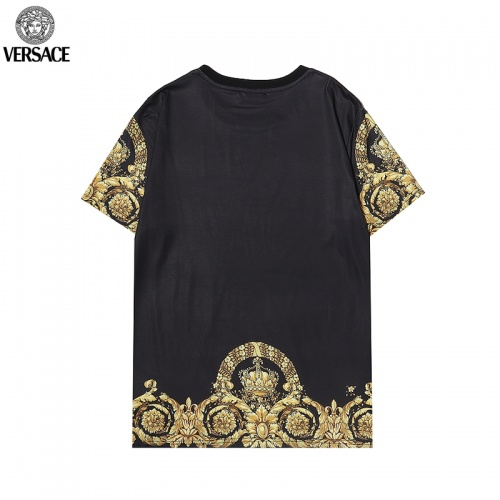 Replica Versace T-Shirts Short Sleeved For Men #869543 $29.00 USD for Wholesale