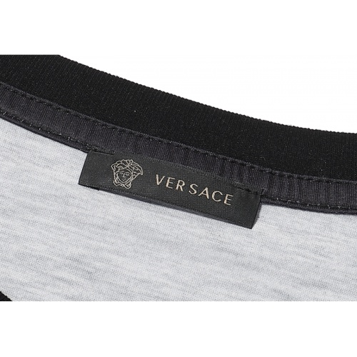 Replica Versace T-Shirts Short Sleeved For Men #869545 $29.00 USD for Wholesale
