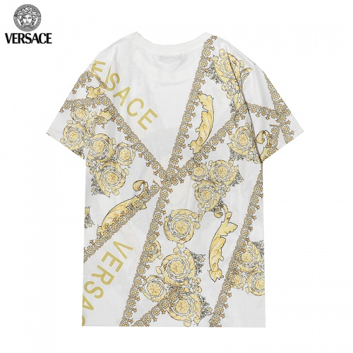 Replica Versace T-Shirts Short Sleeved For Men #869546 $29.00 USD for Wholesale