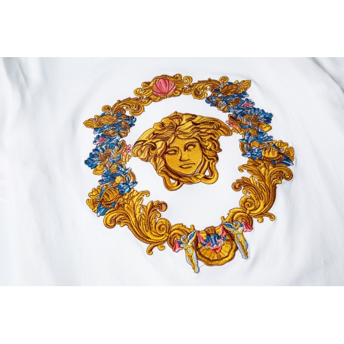 Replica Versace T-Shirts Short Sleeved For Men #869547 $34.00 USD for Wholesale