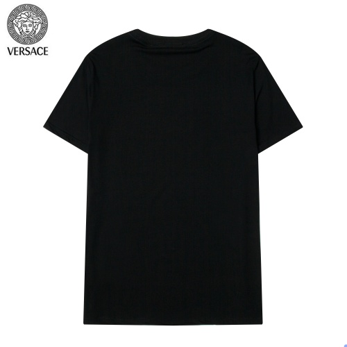 Replica Versace T-Shirts Short Sleeved For Men #869548 $34.00 USD for Wholesale