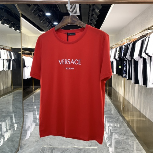 Versace T-Shirts Short Sleeved For Men #869743