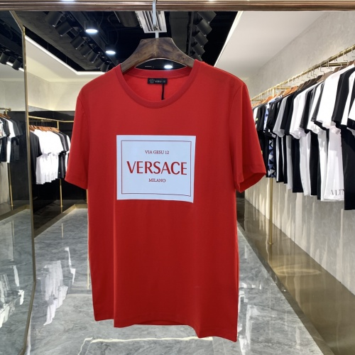 Versace T-Shirts Short Sleeved For Men #869746 $41.00 USD, Wholesale Replica Versace T-Shirts