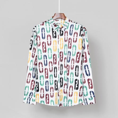 Fendi Shirts Long Sleeved For Men #869792