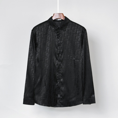 Christian Dior Shirts Long Sleeved For Men #869793