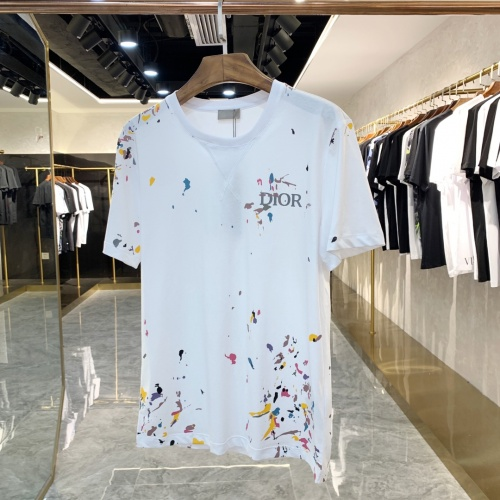 Christian Dior T-Shirts Short Sleeved For Men #869906