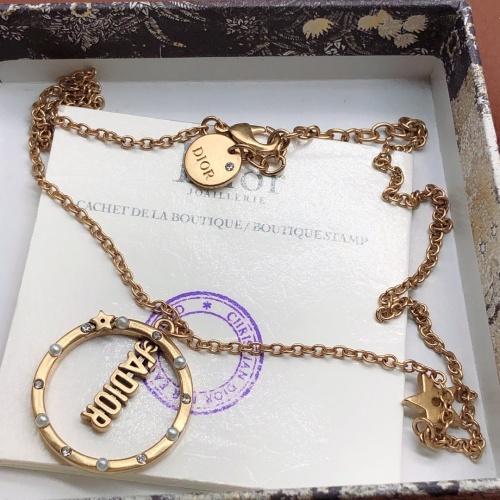 Christian Dior Necklace #870161 $32.00 USD, Wholesale Replica Christian Dior Necklace