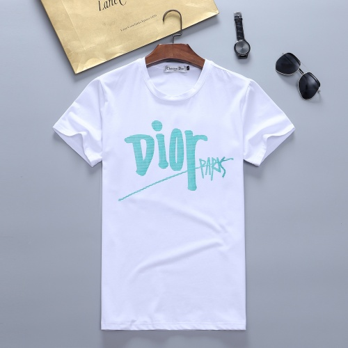 Christian Dior T-Shirts Short Sleeved For Men #870249