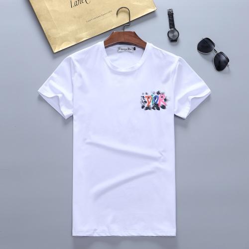 Christian Dior T-Shirts Short Sleeved For Men #870326