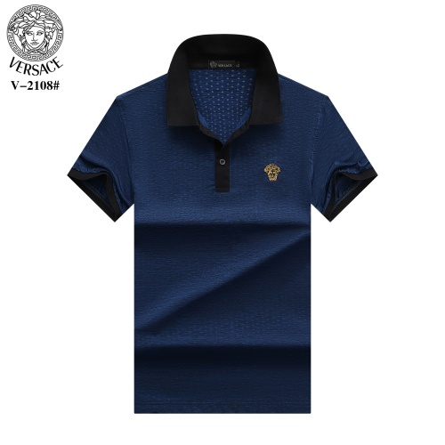 Versace T-Shirts Short Sleeved For Men #870378 $29.00 USD, Wholesale Replica Versace T-Shirts