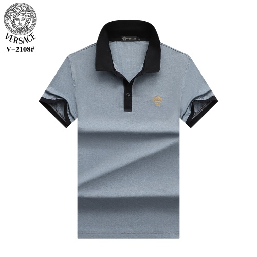Versace T-Shirts Short Sleeved For Men #870379 $29.00 USD, Wholesale Replica Versace T-Shirts