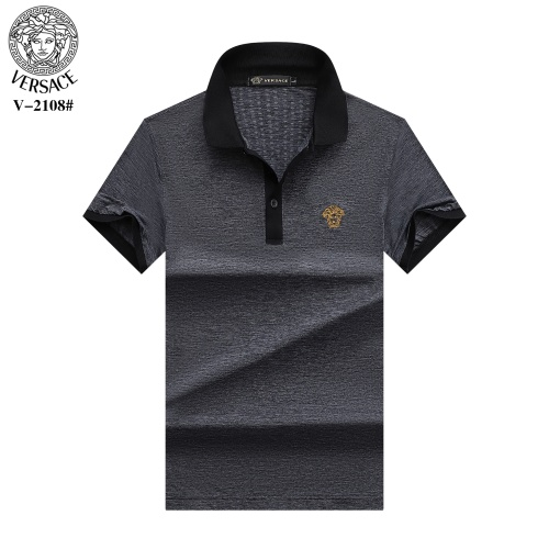 Versace T-Shirts Short Sleeved For Men #870380 $29.00 USD, Wholesale Replica Versace T-Shirts