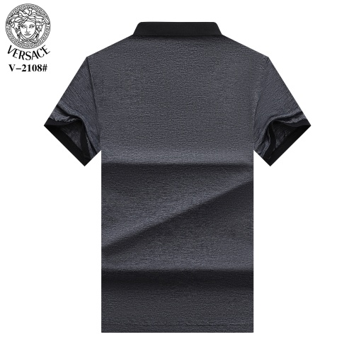 Replica Versace T-Shirts Short Sleeved For Men #870380 $29.00 USD for Wholesale