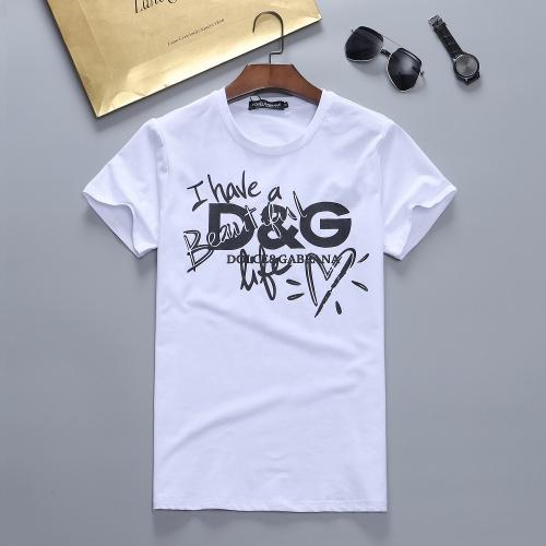 Dolce & Gabbana D&G T-Shirts Short Sleeved For Men #870381