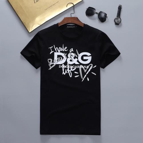 Dolce & Gabbana D&G T-Shirts Short Sleeved For Men #870382