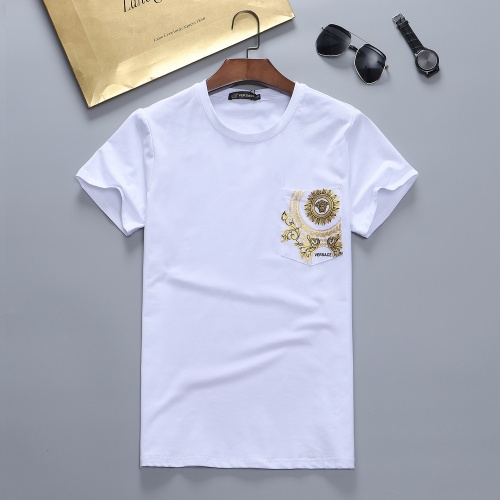 Versace T-Shirts Short Sleeved For Men #870414