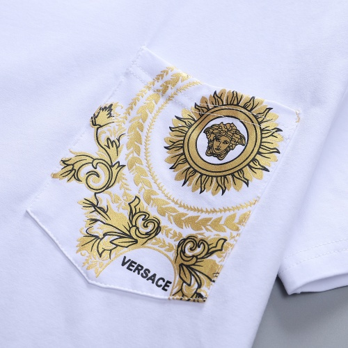 Replica Versace T-Shirts Short Sleeved For Men #870414 $27.00 USD for Wholesale