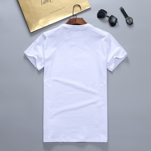 Replica Versace T-Shirts Short Sleeved For Men #870416 $27.00 USD for Wholesale